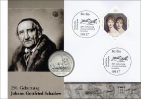 D-323 • 250. Geburtstag Joh. Gottfried Schadow