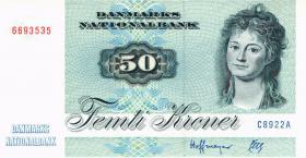 Dänemark / Denmark P.50j 50 Kronen 1992 C8 (1)