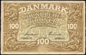 Dänemark / Denmark P.28d 100 Kroner 1936 (3)