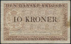 Dänemark / Denmark P.M11 10 Kroner (1947-) Danske Brigade (6)