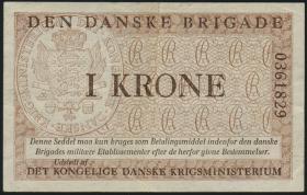Dänemark / Denmark P.M10 1 Krone (1947-) Danske Brigade (3)