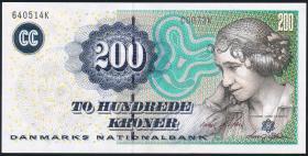 Dänemark / Denmark P.62e 200 Kronen 2007 (1)