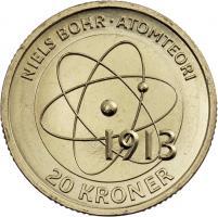 Dänemark 20 Kroner 2013 Niels Bohr