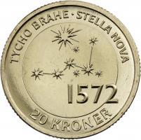 Dänemark 20 Kroner 2013 Tycho Brahe