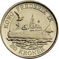 Dänemark 20 Kroner 2012 Frederik IX.