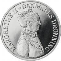 Dänemark 500 Kroner 2012 Thronjubiläum Margrethe II.