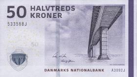 Dänemark / Denmark P.65a 50 Kronen 2009 (1)