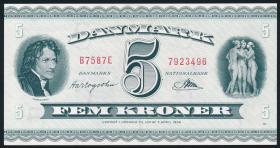 Dänemark / Denmark P.42o 5 Kronen 1958 (1-)