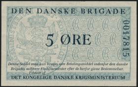 Dänemark / Denmark P.M07 5 Öre (1947-) Danske Brigade (2)