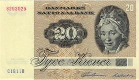 Dänemark / Denmark P.49c 20 Kronen 1981 (1)