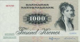 Dänemark / Denmark P.53f 1000 Kronen 1986 (1)