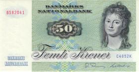 Dänemark / Denmark P.50g 50 Kroner 1985 (1)