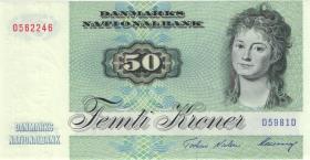Dänemark / Denmark P.50o 50 Kroner 1998 (1)