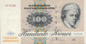 Dänemark / Denmark P.54b 100 Kronen 1995 (2+)