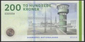 Dänemark / Denmark P.67f 200 Kroner 2016 (1)