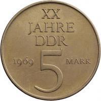 1969  XX Jahre DDR