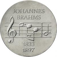 DDR 5 Mark 1972  Brahms