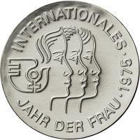 DDR 5 Mark 1975 Jahr der Frau