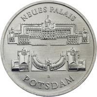 DDR 5 Mark 1986 Neues Palais Potsdam