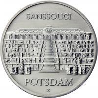 DDR 5 Mark 1986 Sanssouci Potsdam