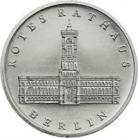 DDR 5 Mark 1987 Rotes Rathaus