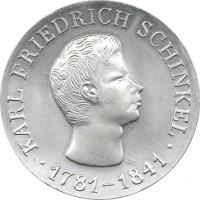 DDR 10 Mark 1966  Schinkel