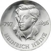 DDR 10 Mark 1972 Heine