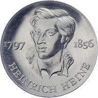 DDR 10 Mark 1972 Heine Alu-Abschlag
