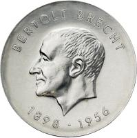 DDR 10 Mark 1973 Brecht