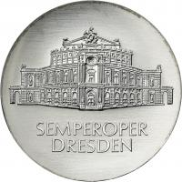 DDR 10 Mark 1985 Semperoper