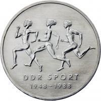 DDR 10 Mark 1988 Sport