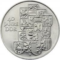 DDR 10 Mark 1989 40 Jahre DDR