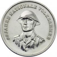 DDR 10 Mark 1976 20 Jahre NVA