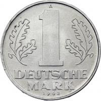 DDR 1 Deutsche Mark (Alu) prfr.