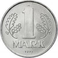 DDR 1 Mark (Alu) prfr.