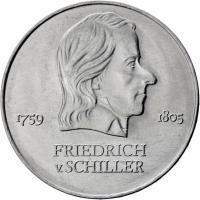 DDR 20 Mark 1972 Schiller