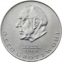 DDR 20 Mark 1973 Grotewohl