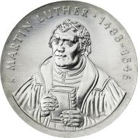 DDR 20 Mark 1983 Luther