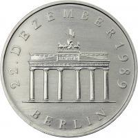 DDR 20 Mark 1990 Brandenburger Tor CuNi