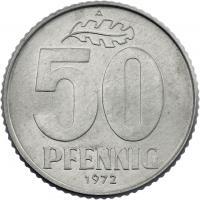 DDR 50 Pfennig (Alu) prfr.
