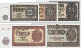 R.349-353 Banknotensatz 1955 (5 Werte) (1)