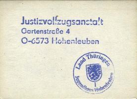 DDR Gefängnisgeld 1 - 50 Pfennig (2/1)