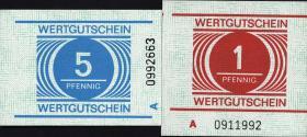 DDR Gefängnisgeld Serie A 1 Pfennig - 20 Mark (1)