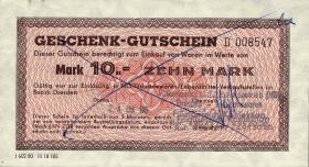 DDR HO Gutschein 10 Mark (1-)