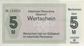 DDR Interhotel Panorama Oberhof 5 Mark (1-)