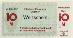 DDR Interhotel Panorama Oberhof 10 Mark (1-)