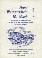 DDR Hotel-Wertgutschein 10 Mark (1)