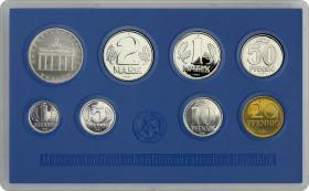 DDR Kursmünzensatz 1981 stgl