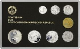 "DDR Kursmünzensatz 1982 stgl ""Minisatz"""