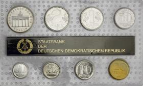 DDR Kursmünzensatz 1987 stgl
